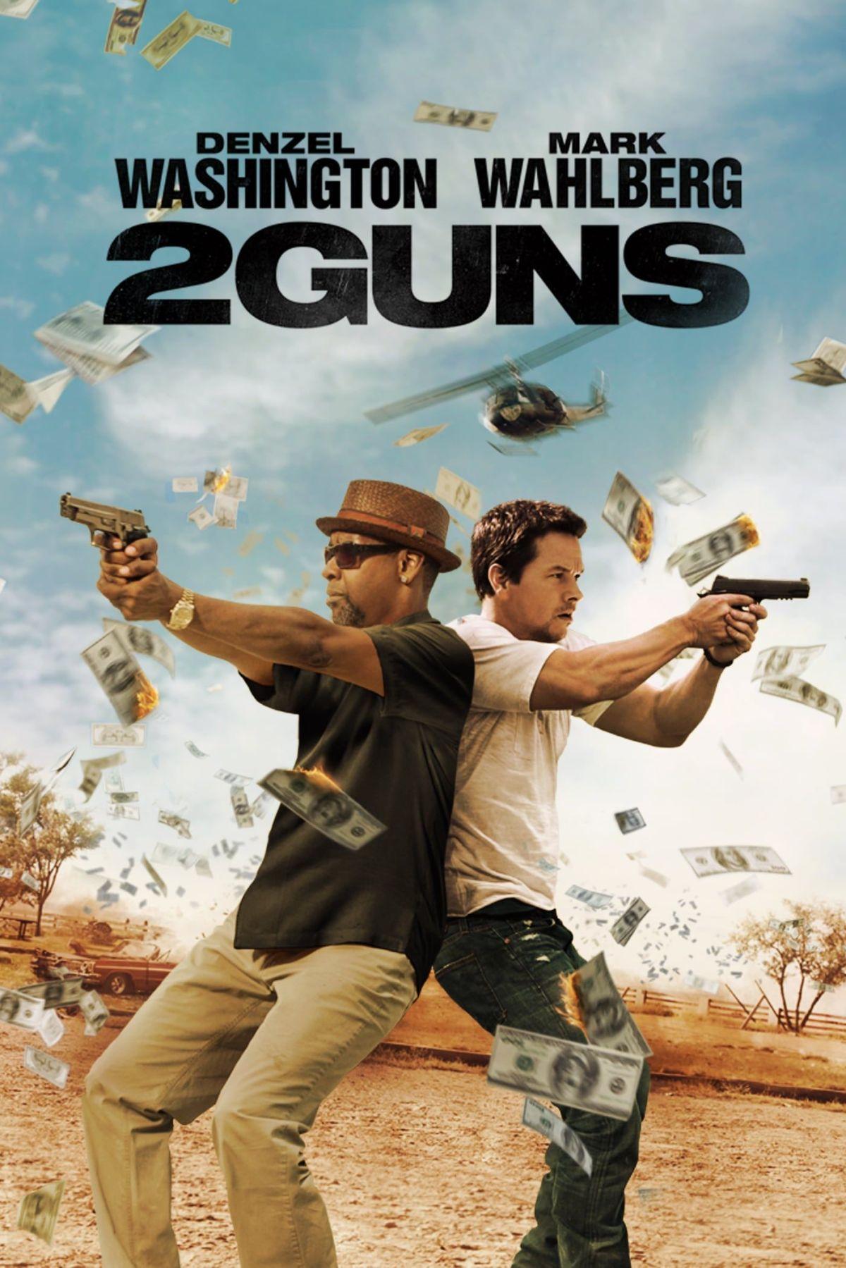 2 guns film poster