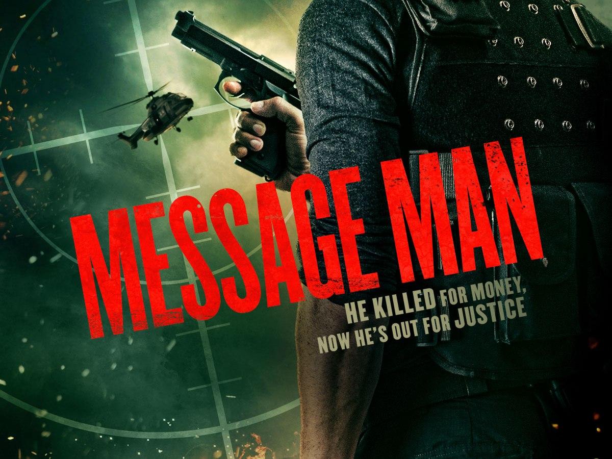 Message man film poster