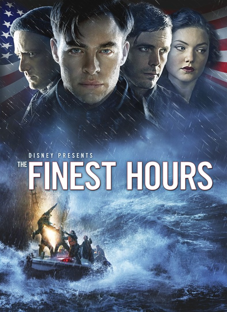 The finest hours film poster