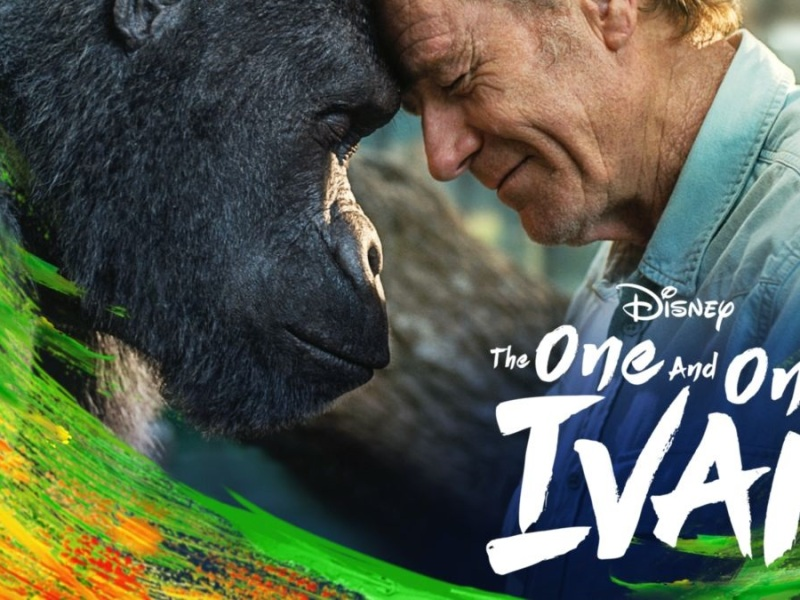Film poster for the one and only Ivan
