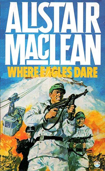 Where Eagles Dare(novel)
