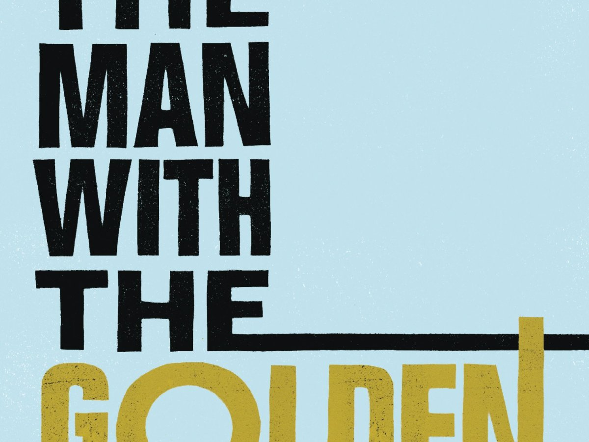 The man with the Golden gun book cover