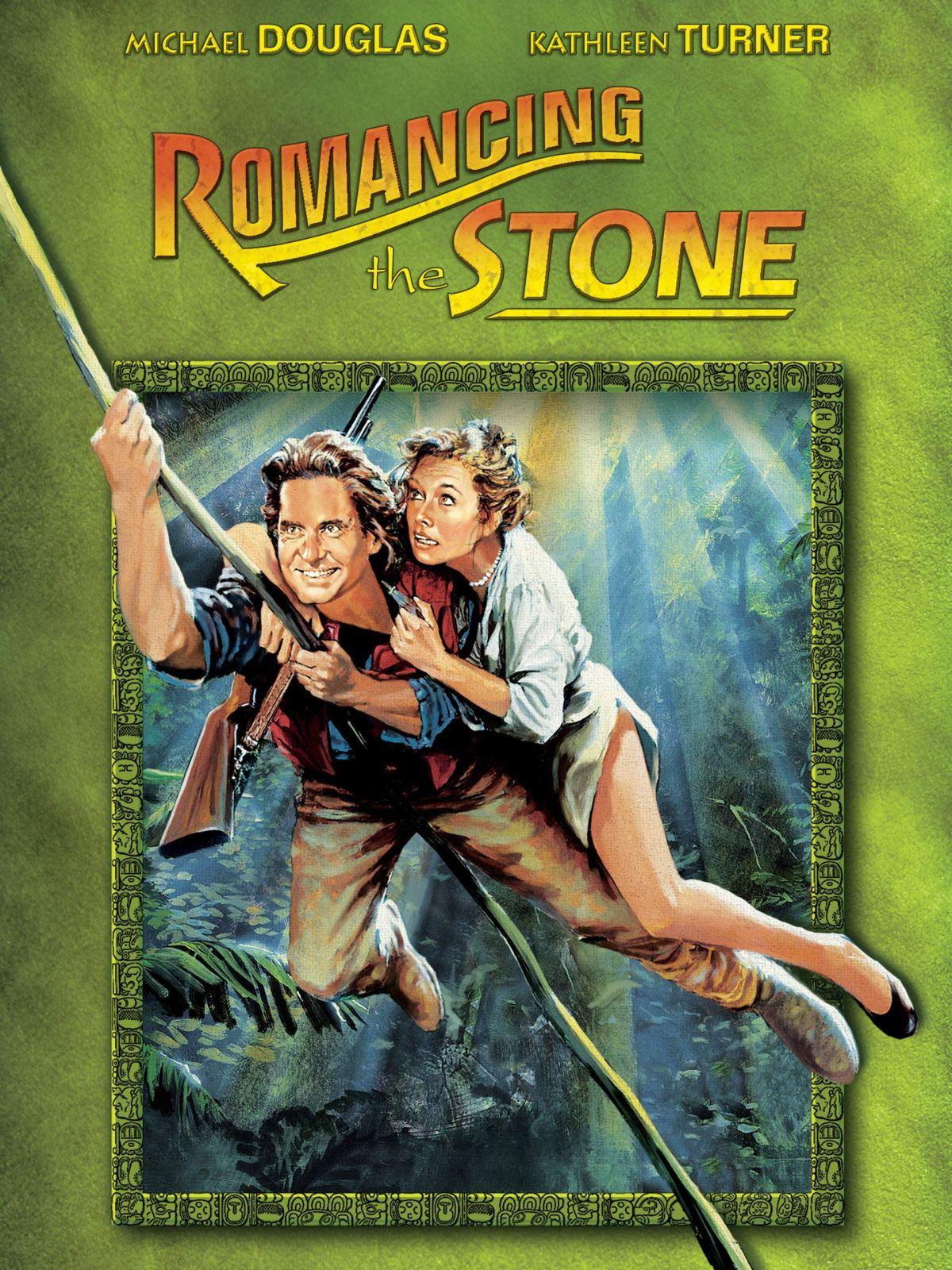 Romancing the Stone film poster