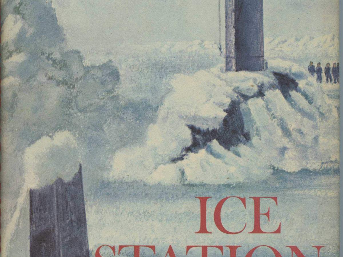 Ice Station zebra book cover