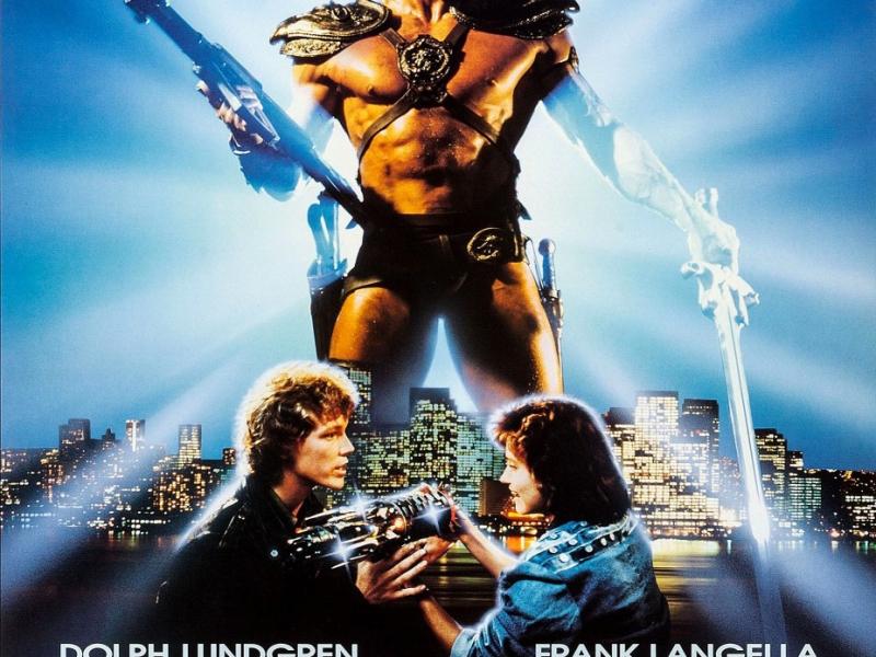 He-man film poster